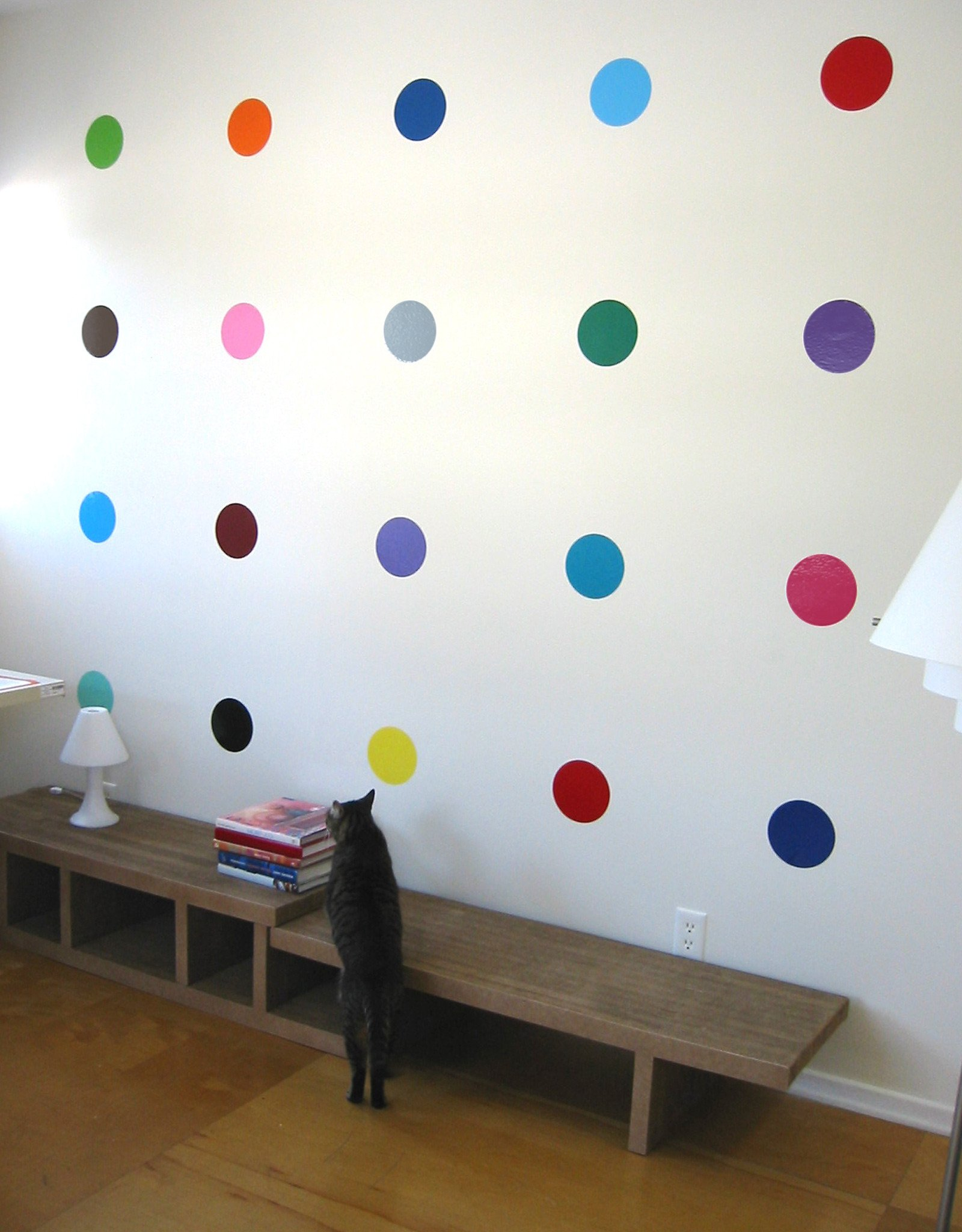 Damien Hirst inspired - Spot Painting Wall Stickers  & Wall Decals only on Stickboutik.com - 1/4