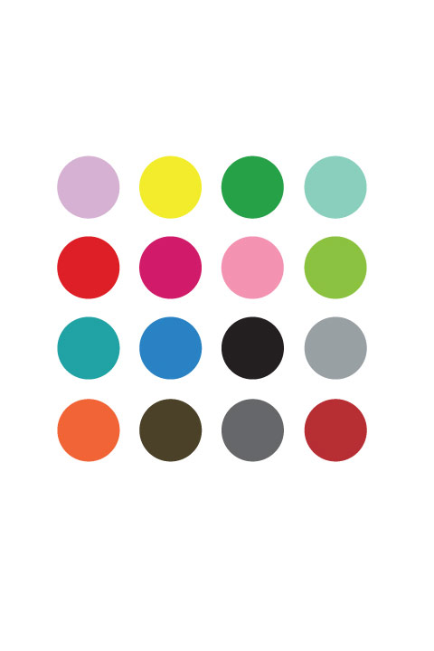 Damien Hirst inspired - Spot Painting Wall Stickers  & Wall Decals only on Stickboutik.com - 3/4