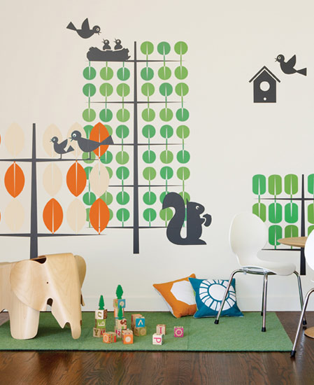 Stickers enfants Trees/Arbres  Boodalee - 1/3