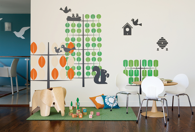 Stickers enfants Trees/Arbres  Boodalee - 2/3