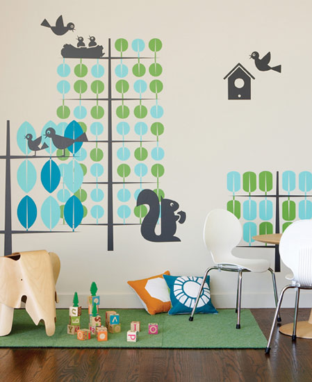 Stickers enfants Trees/Arbres - 1/3