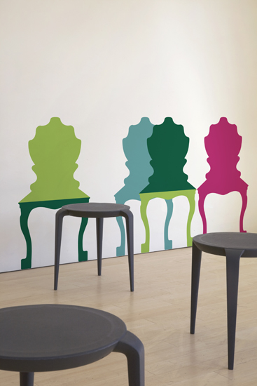 Chair Mix a Lot   Jan Habraken: Wall Sticker & Wall Decal Main Image