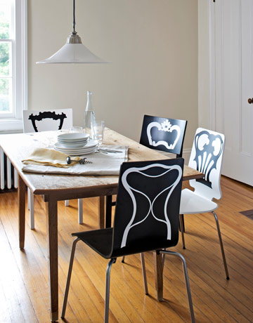 Jan Habraken - Classic Chair Backs  & Wall Decals only on Stickboutik.com - 2/4