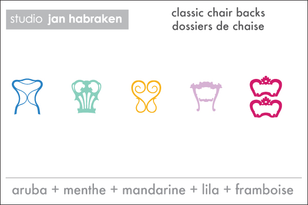Jan Habraken - Classic Chair Backs  & Wall Decals only on Stickboutik.com - 3/4