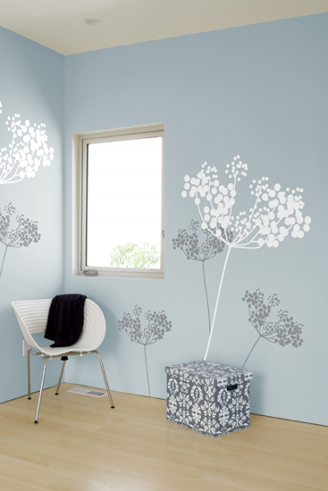 ilan Dei - Anise Snow - Giant Wall Stickers & Wall Decals only on Stickboutik.com - 1/3