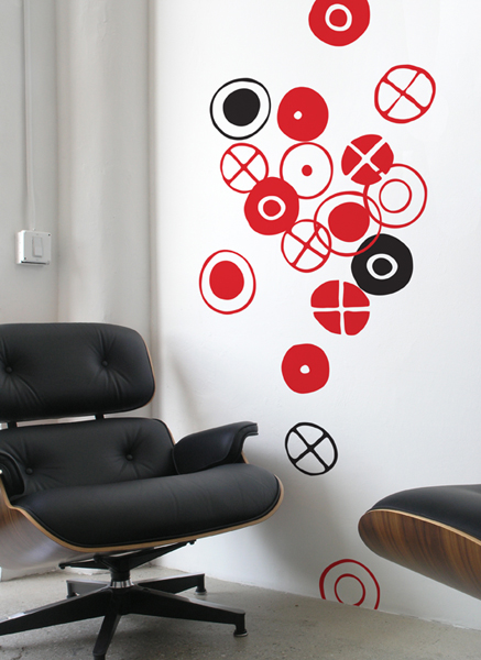 Stickers Circles  par  Charles & Ray EAMES - 1/4