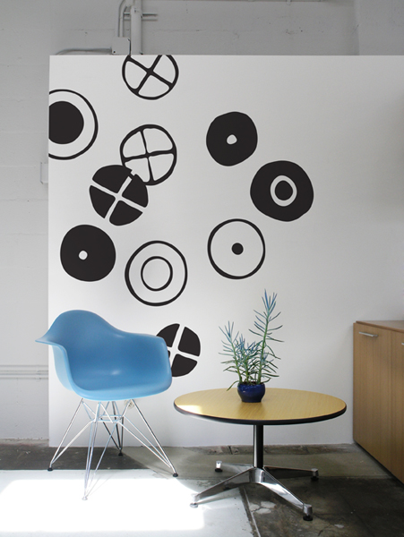 Circles - Big Stickers   Charles & Ray EAMES: Wall Sticker & Wall Decal Main Image
