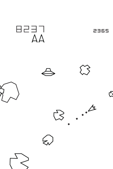 Asteroids - Giant Wall Stickers  Atari : Wall Sticker & Wall Decal Main Image