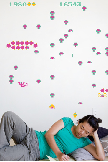 Centipede - Giant Wall Stickers  Atari : Wall Sticker & Wall Decal Main Image
