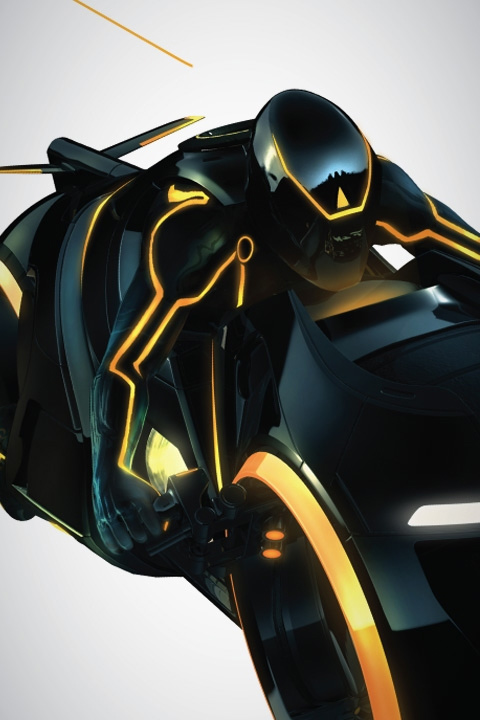 Tron Heritage - LightCycles & Wall Decals only on Stickboutik.com - 3/4
