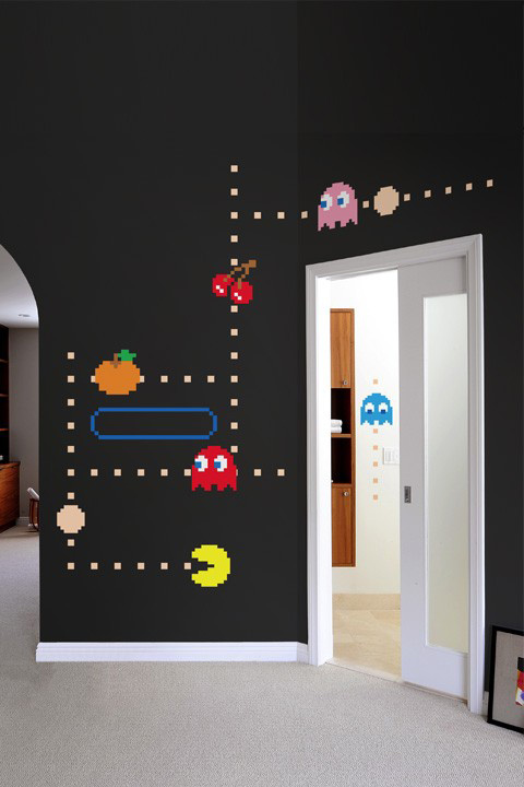 Official PAC-MAN Wall Stickers | Ghosts - Giant Wall Stickers by  Namco/Bandai for a custom Geek decor - Stickboutik.com - 1/5