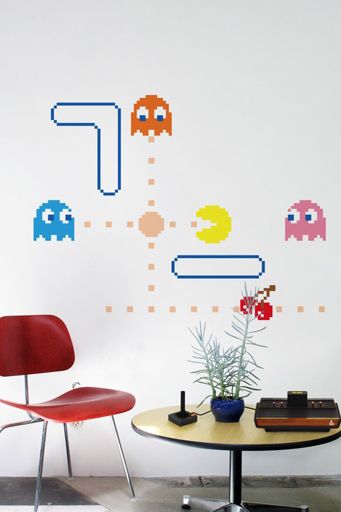 Official PAC-MAN Wall Stickers | Ghosts - Giant Wall Stickers by  Namco/Bandai for a custom Geek decor - Stickboutik.com - 2/5