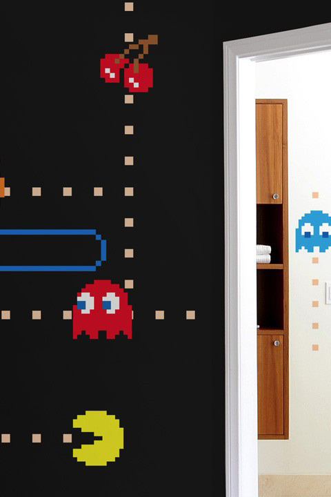 Official PAC-MAN Wall Stickers | Ghosts - Giant Wall Stickers by  Namco/Bandai for a custom Geek decor - Stickboutik.com - 3/5