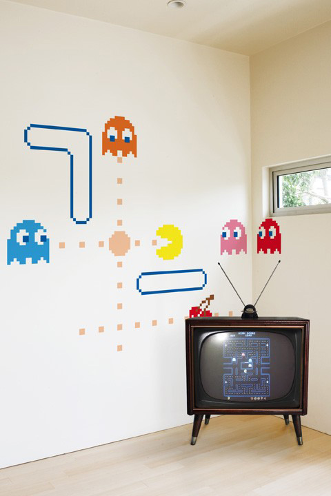Official PAC-MAN Wall Stickers | Ghosts - Giant Wall Stickers by  Namco/Bandai for a custom Geek decor - Stickboutik.com - 4/5