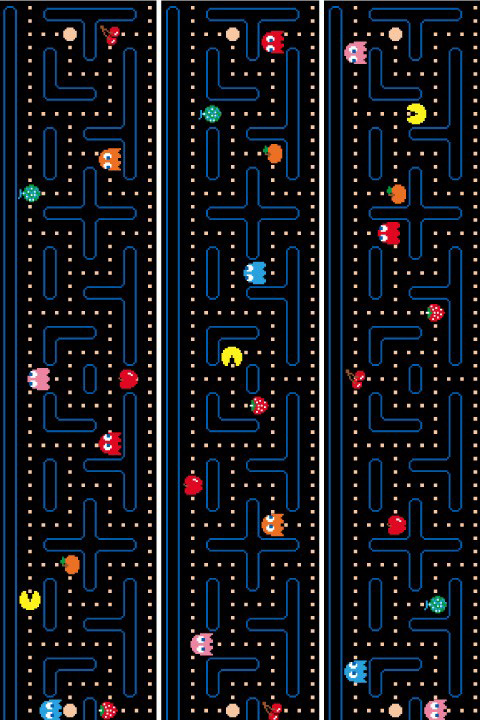 Official PAC-MAN Wall Stickers | Border - Giant Wall Stickers by  Namco/Bandai for a custom Geek decor - Stickboutik.com - 4/6