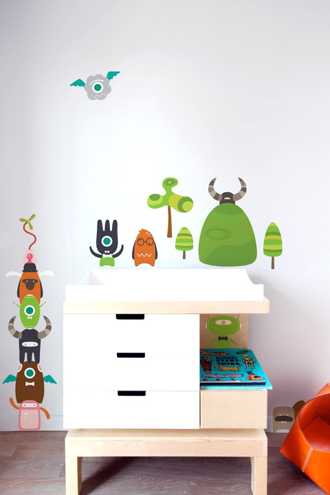 BabyBot - Build-a-Bot  - Kids Wall Stickers & Wall Decals only on Stickboutik.com - 1/7