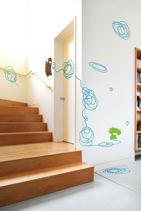 BabyBot - Doodle  - Kids Wall Stickers & Wall Decals only on Stickboutik.com - 1/7