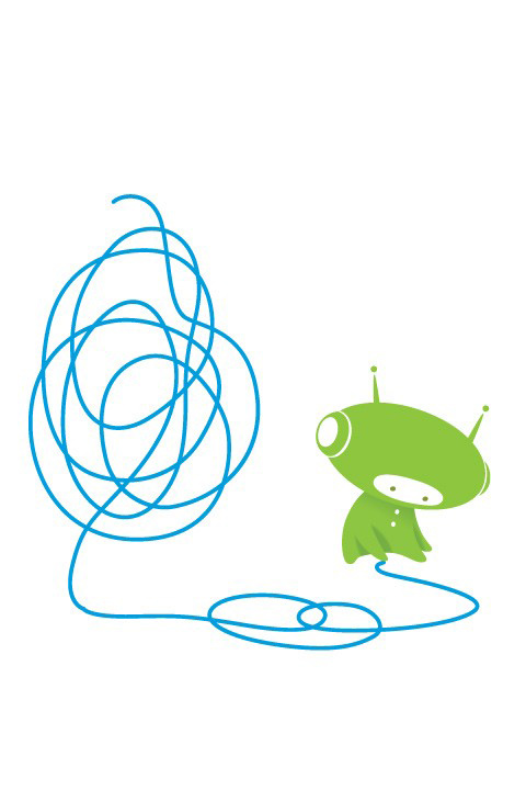 BabyBot - Doodle  - Kids Wall Stickers & Wall Decals only on Stickboutik.com - 2/7