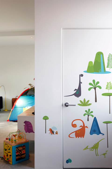 BabyBot - Cyclop - Kids Wall Stickers & Wall Decals only on Stickboutik.com - 2/3