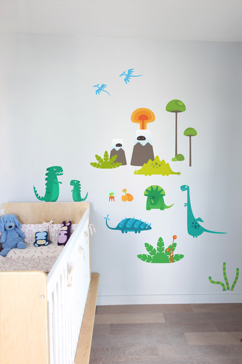 BabyBot - Strange NewWorld  - Kids Wall Stickers & Wall Decals only on Stickboutik.com - 1/3