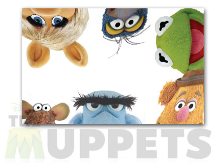 Package content: Faces by  The  Muppets - Only Stickboutik.com