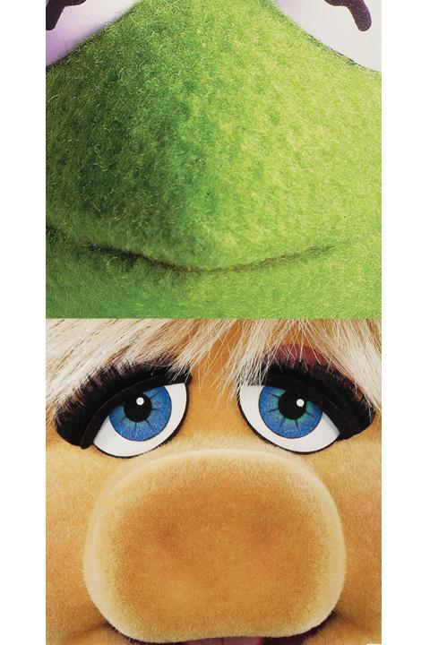 Kermit dalles murales les muppets stickers muraux - Dalles autocollantes murales ...