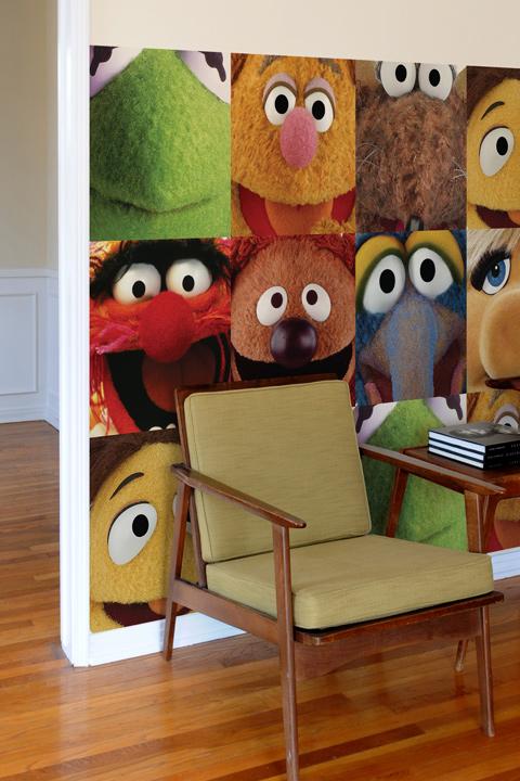Gonzo dalles murales par les muppets stickers muraux - Dalles autocollantes murales ...