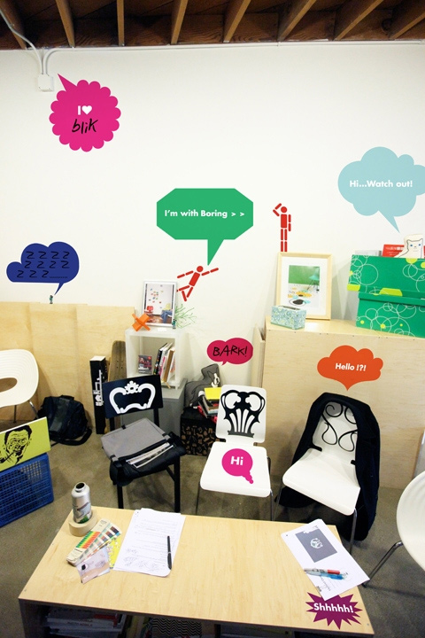 Cartoon bubbles Pack A - Giant Wall Stickers  2x4: Wall Sticker & Wall Decal Main Image