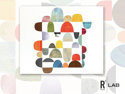 Horizon - Giant Wall Stickers  Rex Ray: Sticker / Wall Decal Outline