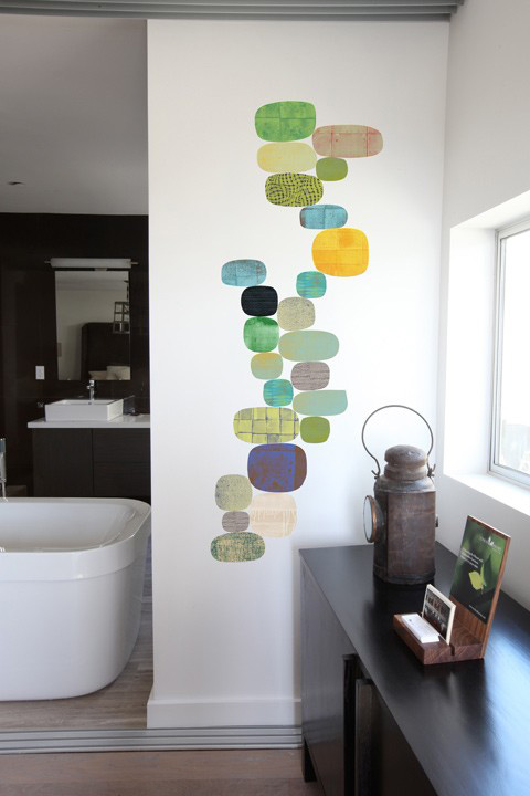 Verdant Flow  - Giant Wall Stickers  Rex Ray: Wall Sticker & Wall Decal Main Image