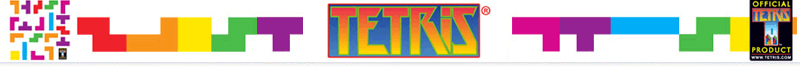 Tetris Pyramid - Mini Wall Stickers by  Tetris - Only Stickboutik.com