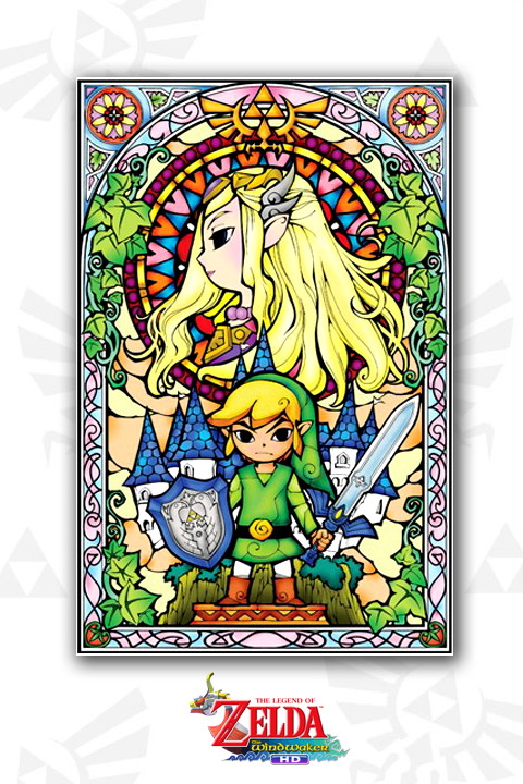 Zelda Wind Waker: Princess Wall Decals  Nintendo: Wall Sticker & Wall Decal Main Image