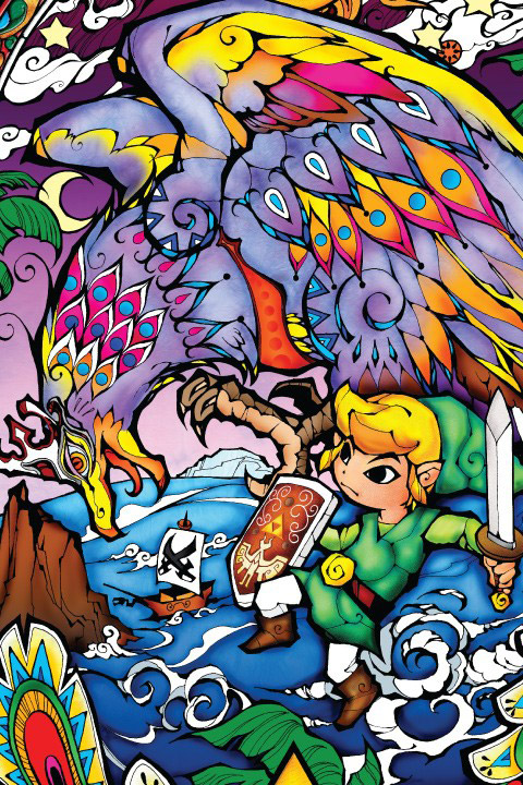 Zelda Wind Waker: Helmaroc King Wall Decals  Nintendo: Wall Sticker & Wall Decal Main Image