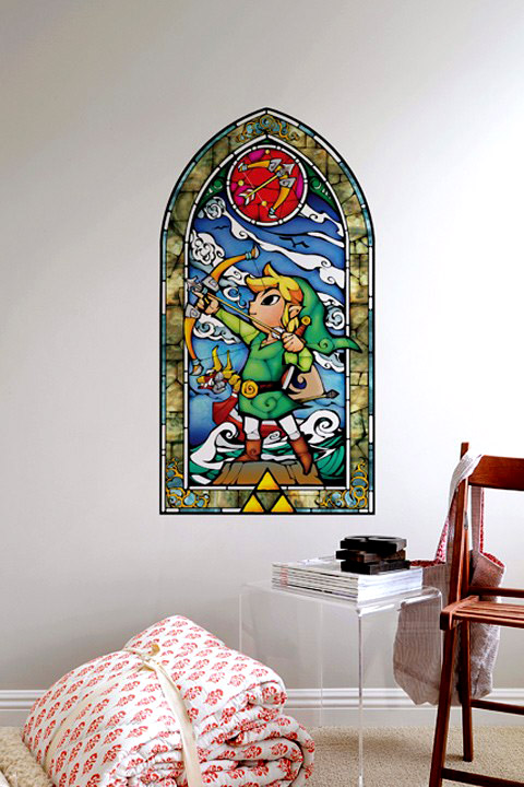 Cuisine Ikea Blanc Brillant : Deco chambre The Legend of Zelda Bow Stickers muraux Zelda Officiels