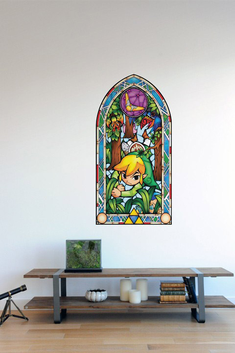 Zelda Wind Waker: Boomerang Wall Decals  Nintendo: Wall Sticker & Wall Decal Main Image