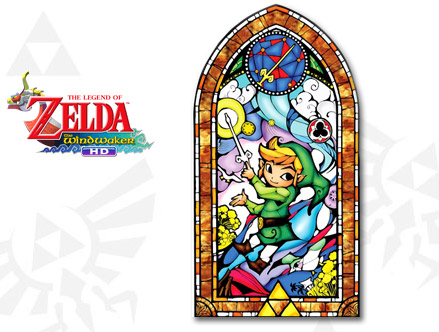 Stickers Muraux et stickers deco Zelda: Wind Waker Gold chez stickboutik.com