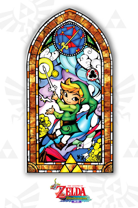 Stickers Legend of Zelda: Wind Waker Gold Officiels: Stickers muraux déco Geek - Stickboutik.com - 2/4