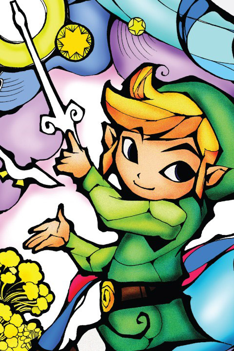 Stickers Legend of Zelda: Wind Waker Gold Officiels: Stickers muraux déco Geek - Stickboutik.com - 3/4