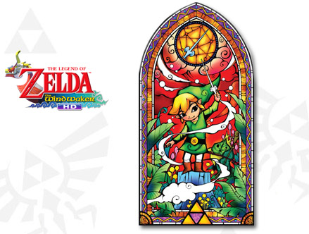 Package content: Zelda: Wind Waker Silver Wall Decals by  Nintendo - Only Stickboutik.com