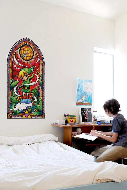 Zelda: Wind Waker Silver Wall Decals & Wall Stickers only on Stickboutik.com - 1/4