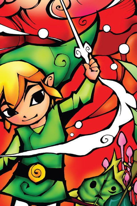 Zelda: Wind Waker Silver Wall Decals & Wall Stickers only on Stickboutik.com - 3/4
