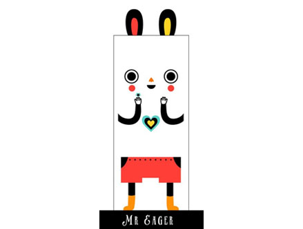 Stickers Muraux et stickers deco Mr. Eager - Stickers de porte chez stickboutik.com