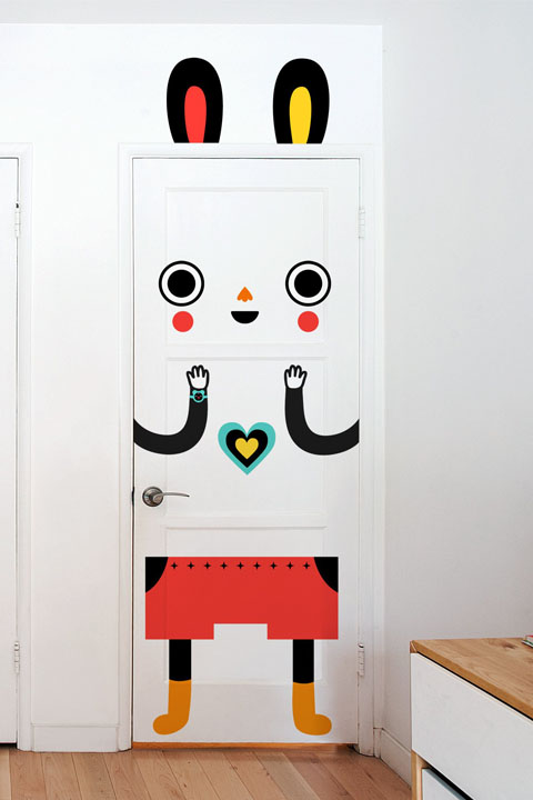 Mr. Eager - Stickers de porte  Muxxi - 1/3
