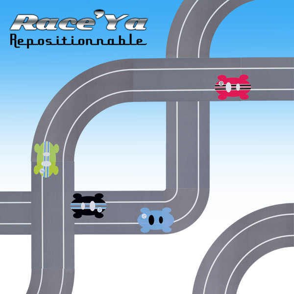 RaceTrack Wall Stickers  RaceYa!: Wall Sticker & Wall Decal Main Image