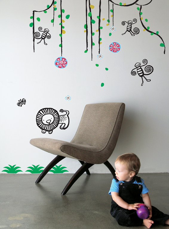 WeeGallery - Jungle - Kids Wall Stickers & Wall Decals only on Stickboutik.com - 1/2