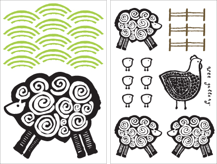 Stickers Muraux et stickers deco Stickers muraux Farm  chez stickboutik.com