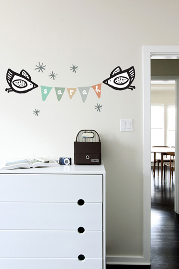 WeeGallery - Name Banner - Kids Wall Stickers & Wall Decals only on Stickboutik.com - 2/5
