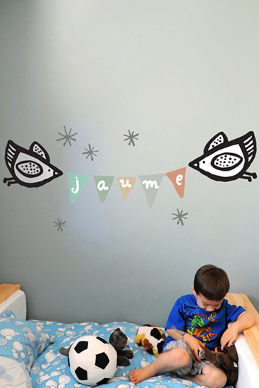 WeeGallery - Name Banner - Kids Wall Stickers & Wall Decals only on Stickboutik.com - 3/5