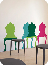 Stickers muraux Chair Mix A Lot par Studio Habraken
