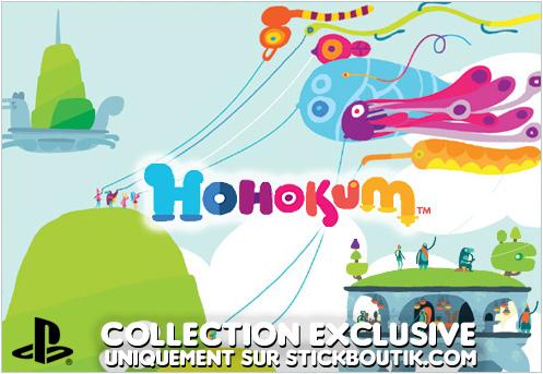 Stickers Muraux exclusifs Hohokum PlayStation uniquement sur Stickboutik.com